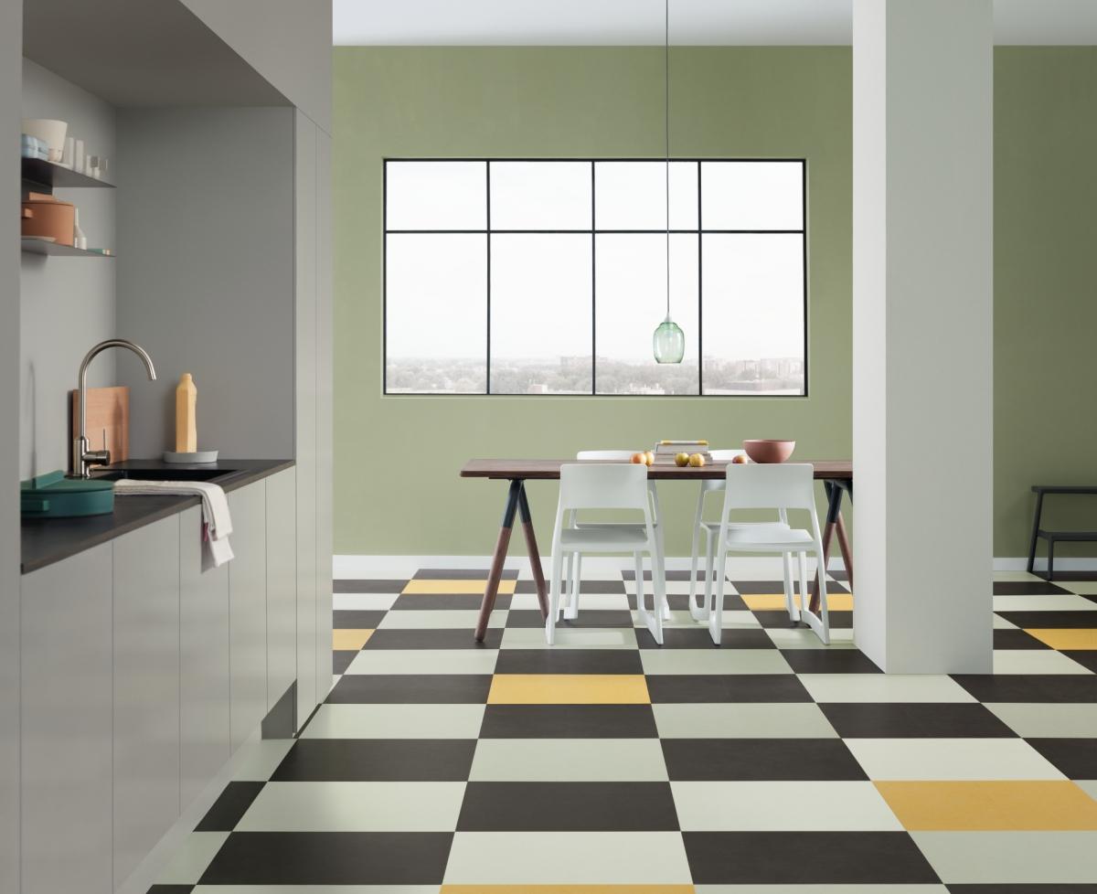Linoleum en marmoleum vloeren